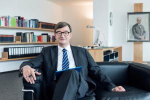 Otmar D. Wiestler ist der neue Präsident der Helmholtz-Gemeinschaft. Bild: Helmholtz/Steffen Jänicke.