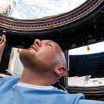Alexander Gerst in der Cupola der ISS. Bild: NASA