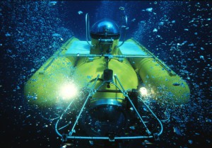 Submersible JAGO is diving