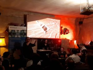Resonator live mit Ina Plesa. Foto: Lars Mehwald